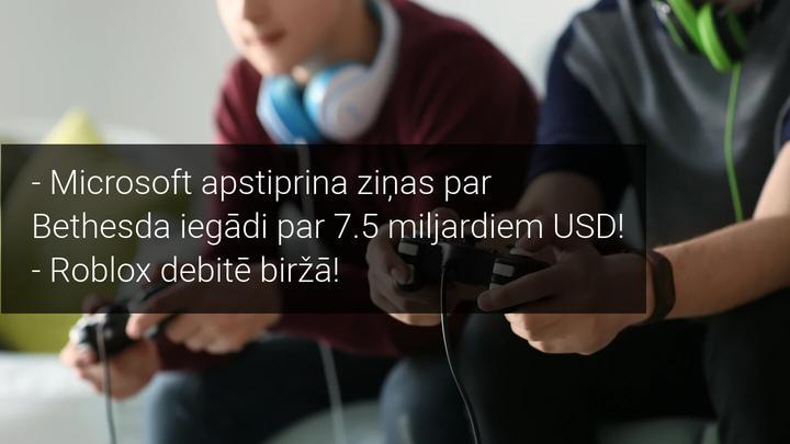 Microsoft apstiprina ziņas par Bethesda iegādi par 7.5 miljardiem USD