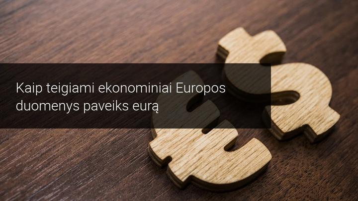 Pramonės PMI leidžia eurui atsikvėpti