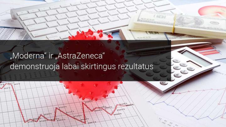 AstraZeneca skiepijimo programa kelia abejonių, o Moderna – vyksta sėkmingai
