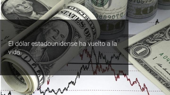 subida dolar estadounidense (USD)