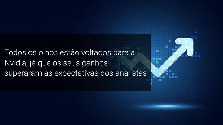 Todos os olhos estão voltados para a Nvidia, já que os seus ganhos superaram as expectativas dos analistas - Admiral Markets