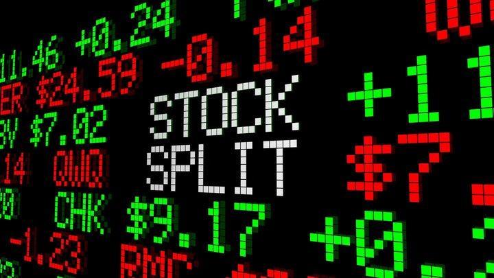 Trading Stock Splits