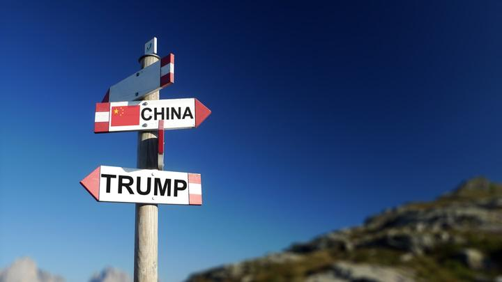Donald Trump i Kina