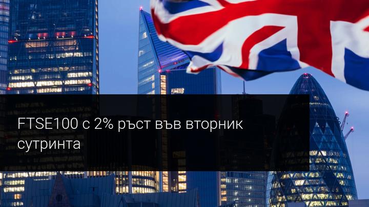 Британските акции реагират положително на дългоочакваната Брекзит сделка