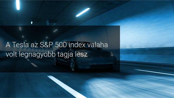 Tesla és S&P 500