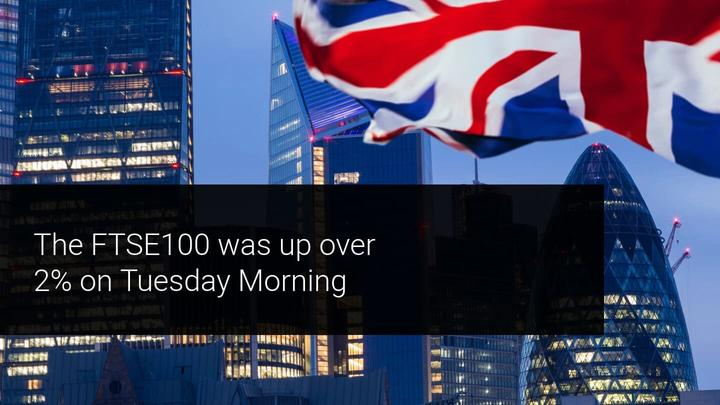 UK Stocks Rise in Response to Brexit Deal