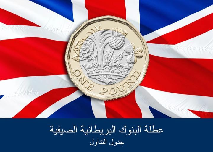 عطلة البنوك البريطانية