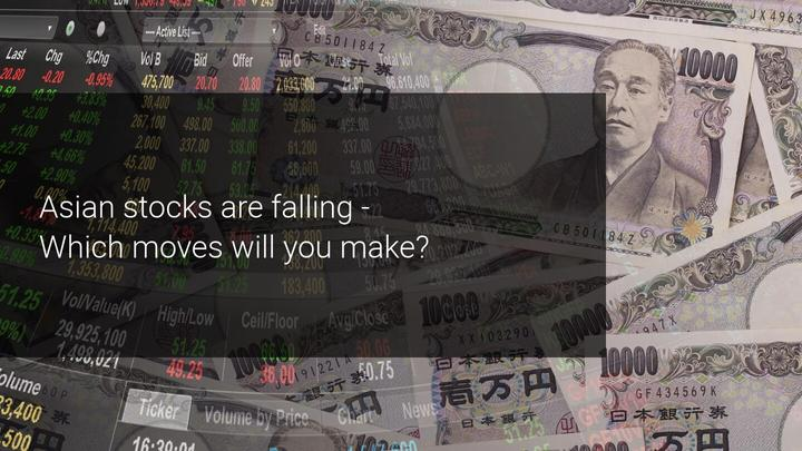US Political and Economic Uncertainty Dragging Asian Stock Markets Down