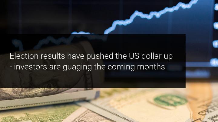 U.S. dollar rose after election results