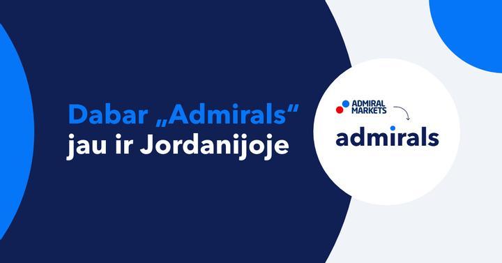 """Vienas pasaulis – vienas brokeris – skirtingos galimybės su """"Admirals"""""""