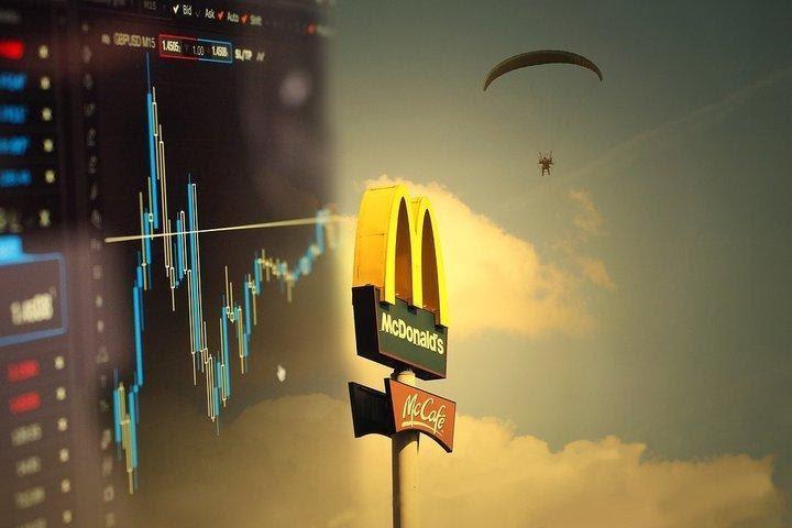 Viss par McDonald's un ieguldījumiem McDonald's akcijās