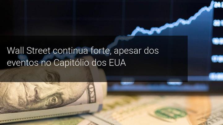 Wall Street continua forte, apesar dos eventos no Capitólio dos EUA - Admiral Markets