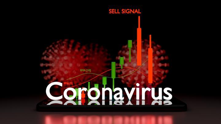 vente à découvert coronavirus