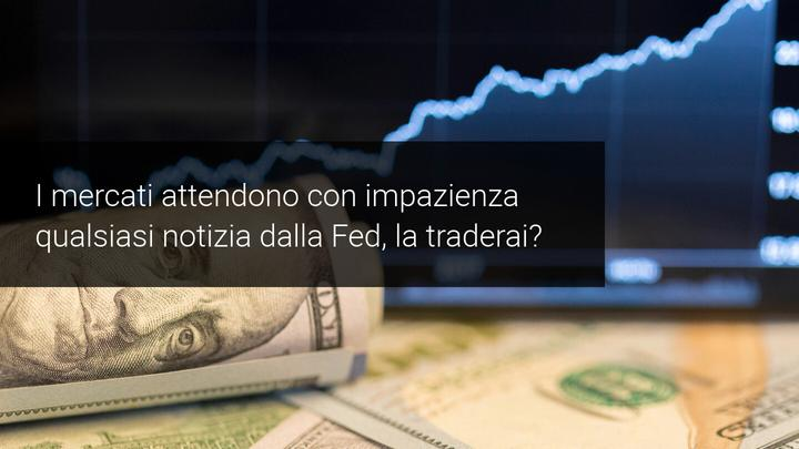 dollaro index e notizie dalla FED