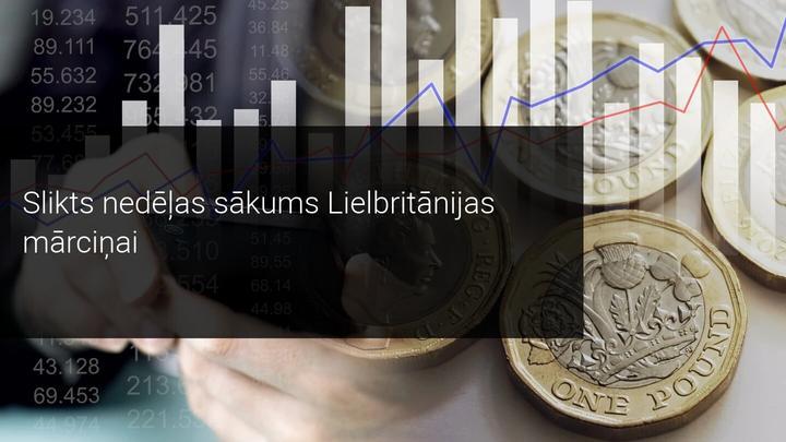 GBP vērtība sarūk, nodarbinātībai sasniedzot zemāko līmeni 3 gadu laikā