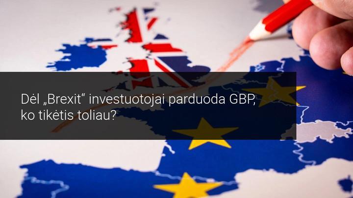 Investicijų valdytojai parduoda GBP po sudaryto prekybos po Brexit susitarimo! Kas bus toliau?
