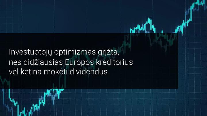 HSBC akcijos išaugo 40 procentų, nes investuotojai stato už dividendus