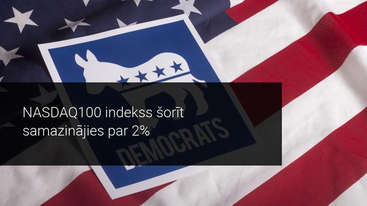 Volstrīta reaģē uz paredzamo demokrātu uzvaru Džordžijas štatā