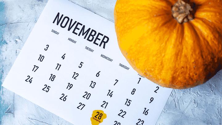 Změna obchodních hodin na svátek díkůvzdání v USA 2019