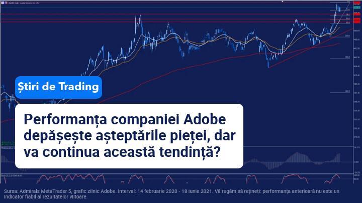 rezultate trimestriale Adobe
