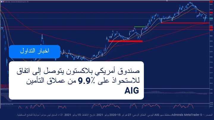 صفقة استحواذ لـ Blackstone و AIG بقيمة 2200 مليون دولار أمريكي