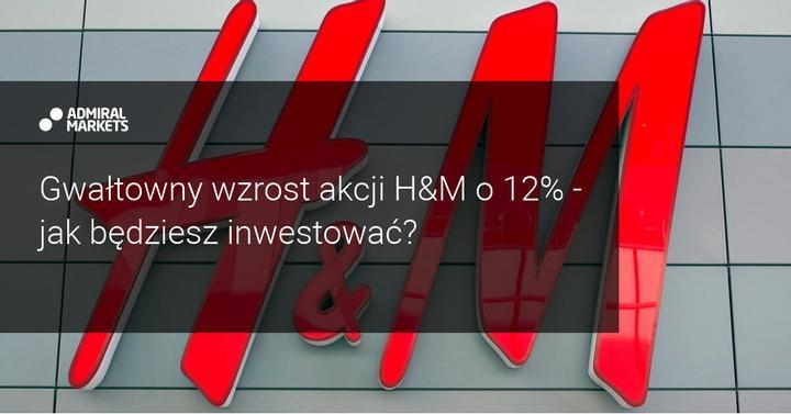 wzrost akcji hm