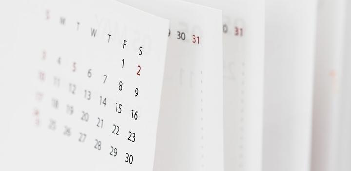 calendrier économique hebdomadaire