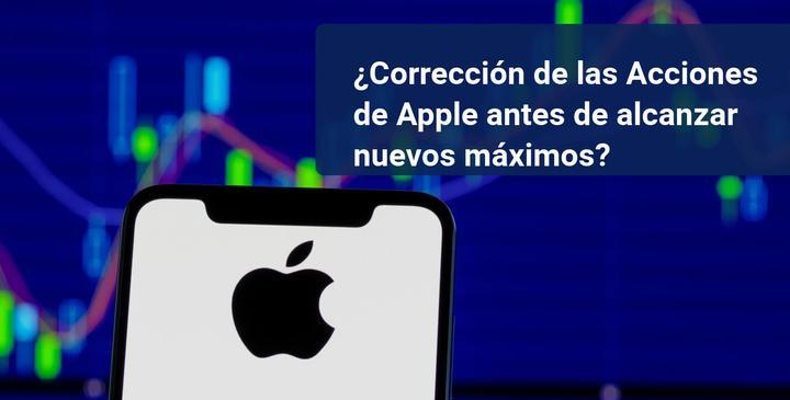 correccion acciones apple
