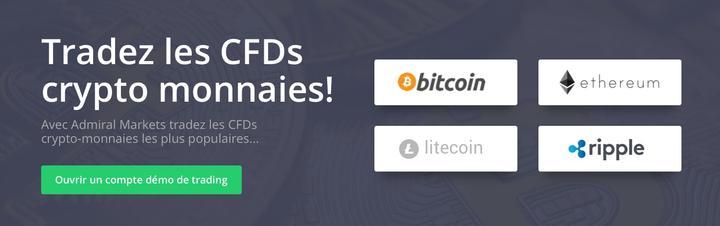 trader les CFD crypto monnaies