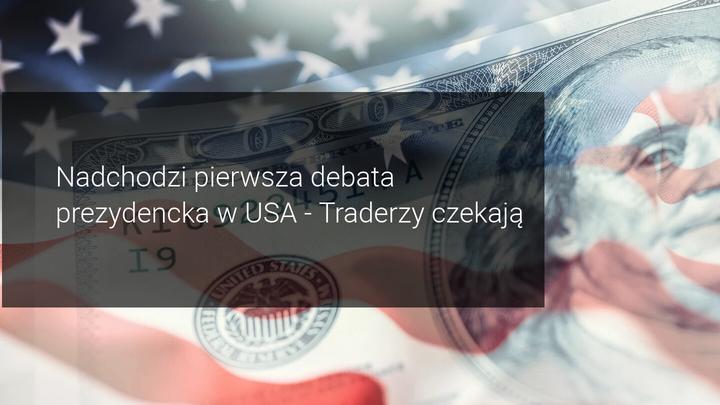nadchodzi pierwsza debata prezydencka USA 2020