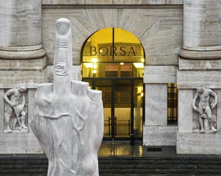 FTSE MIB Index Milan Italy stock