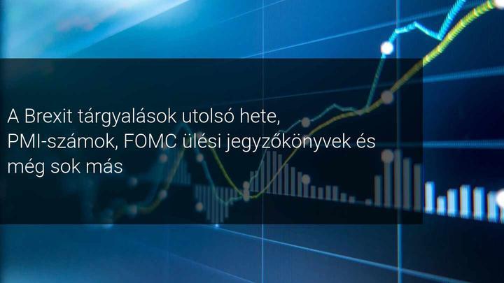 Heti piaci kilátások: A FOMC és a globális PMI adatai kerülnek középpontba