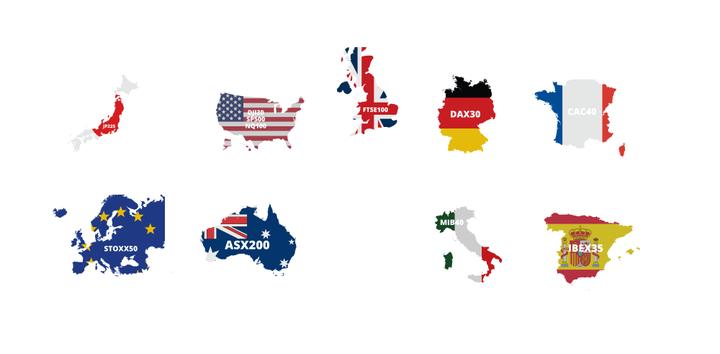 weltweit handelbare Indizes bei Admiral Markets UK: CFDs