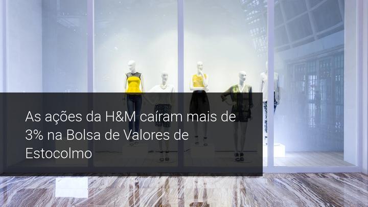 As ações da H&M caíram mais de 3% na Bolsa de Valores de Estocolmo - Admiral Markets