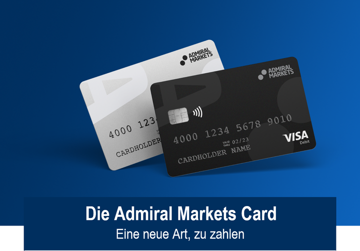 Die Admiral Markets Card - Eine neue Art zu bezahlen!