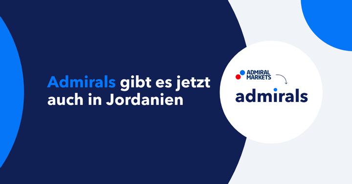 Neue Möglichkeiten mit Admirals - jetzt auch in Jordanien