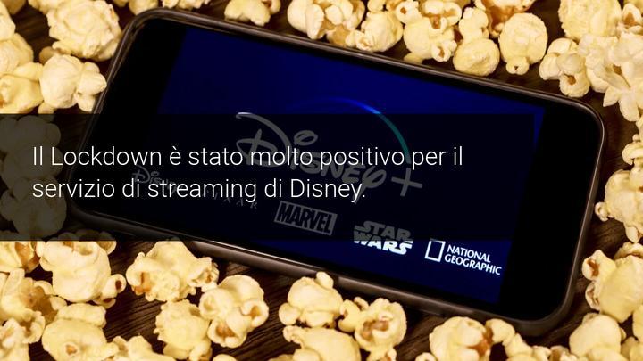 Lockdown positivo per Disney