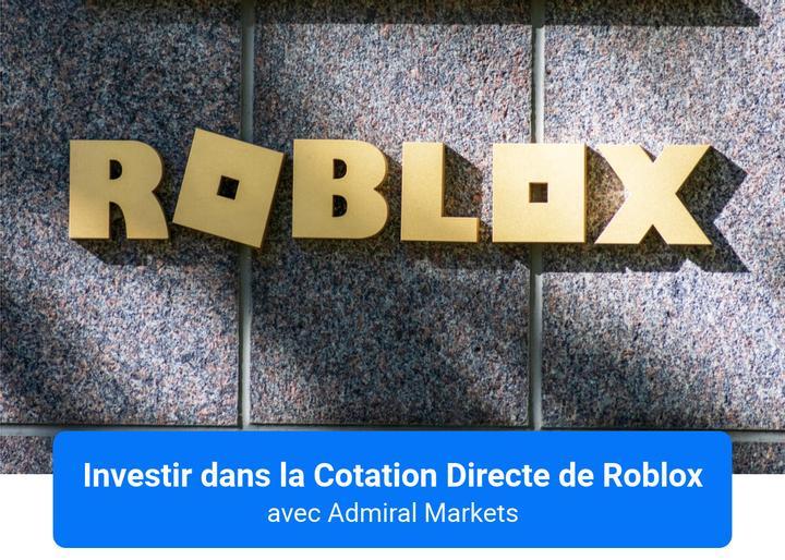 Investir dans la Cotation en Bourse Directe de Roblox avec Admiral Markets