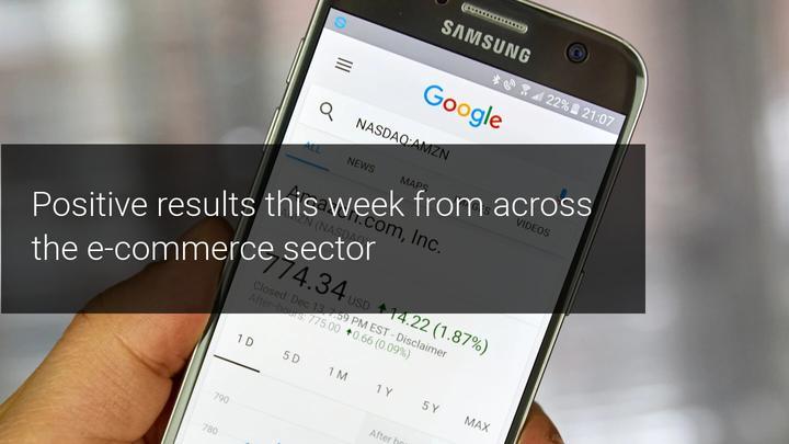 تؤكد نتائج Amazon و Alibaba و eBay الصحة الجيدة لقطاع التجارة الإلكترونية.