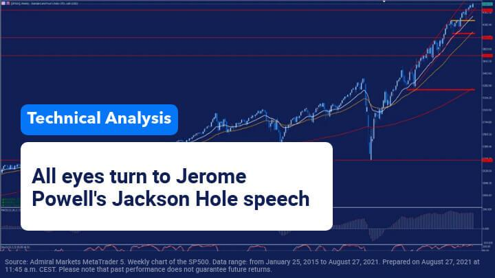 Jerome Powell takes the floor at Jackson Hole