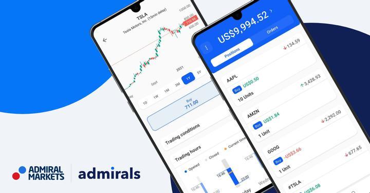 Admirals Mobile trgovanje