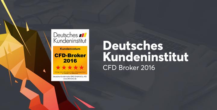 CFD Broker 2016