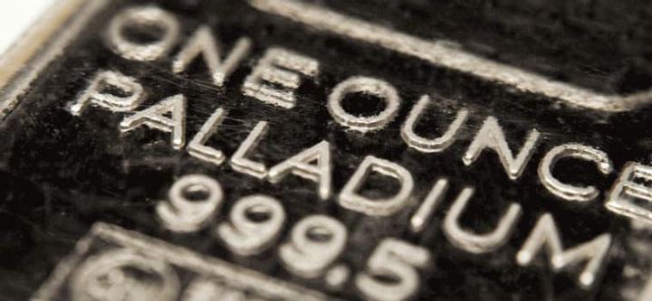 palladium trading