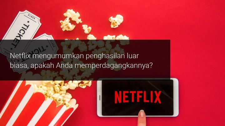 Pendapatan Netflix