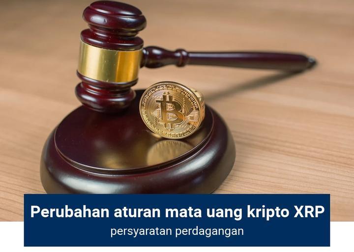 Perubahan aturan mata uang kripto XRP