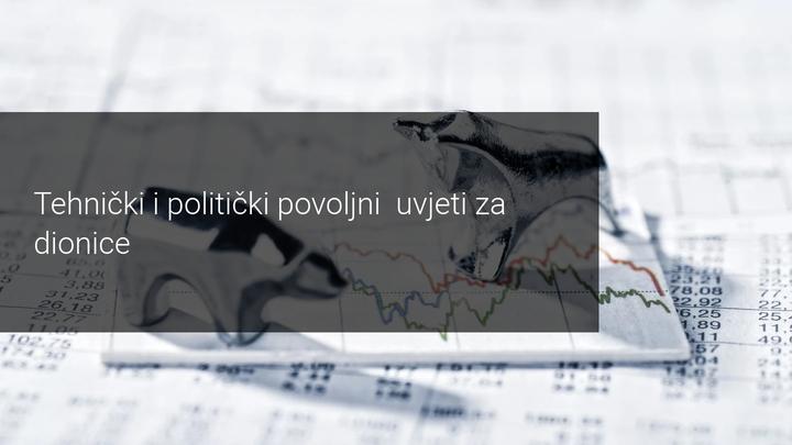 povoljni uvjeti za dionice