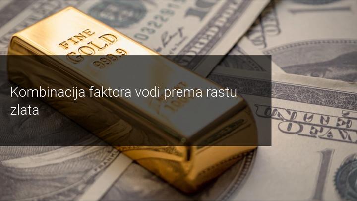 razni faktori utječu na rast zlata