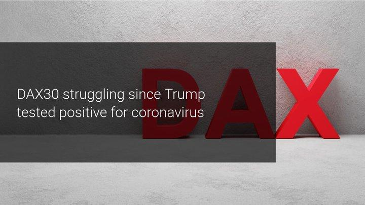 Trump krijgt Coronavirus, DAX30 onder druk