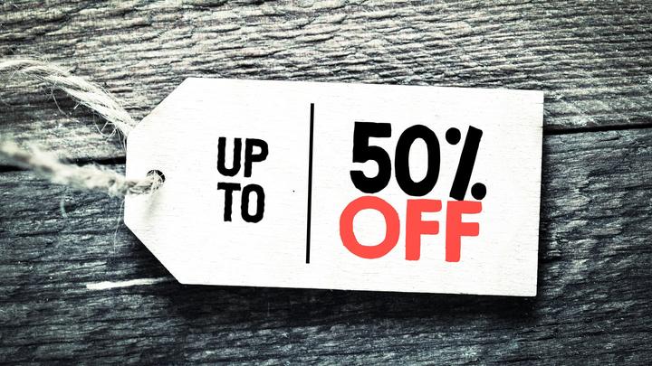 Gaukite iki 50 % nuolaidą spredams per Prekybos dienas!