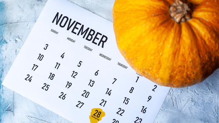 Изменения в торговом расписании в День благодарения в США